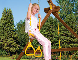 64 Trapeze Triangles Combo Rainbow Swing Set Parts