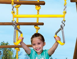 65 Trapeze Triangles Combo with Plastisol Dipped Steel Triangles Rainbow Playset Accessories