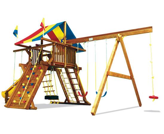 65B Monster Castle Pkg II Feature Model Swing Set