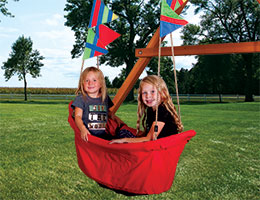 67 Ship Swing Rainbow Playset Accessories