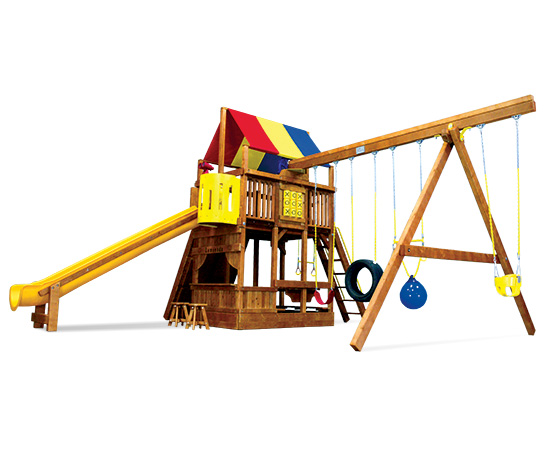 72C Monster Clubhouse Pkg II Fancy Playset