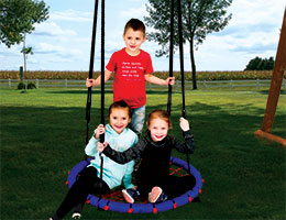 73 Web Swing Rainbow Playset Accessories