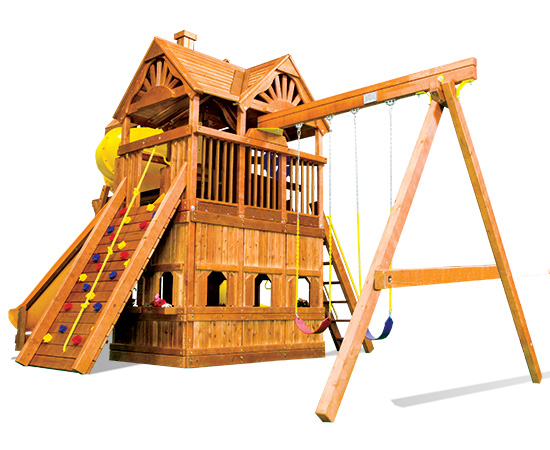 75L Monster Clubhouse Pkg V Maxed Out Huckleberry Hideout Playset