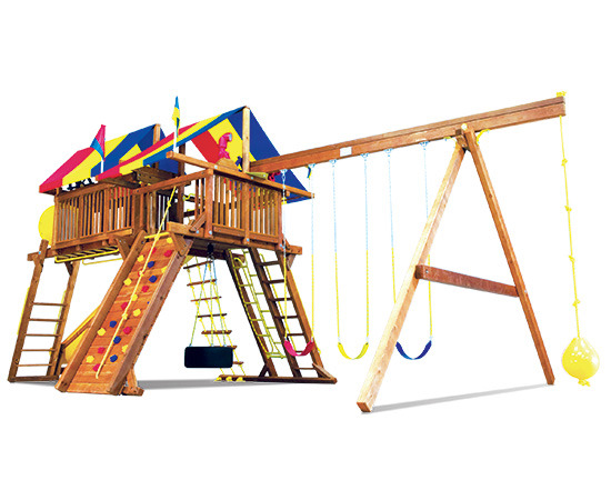 79E King Kong Castle Pkg IV Crown Jewel Swing Set