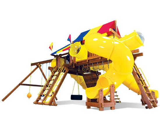 81I King Kong Castle TUBE CITY Swing Set