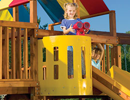 92 Crows Nest Rainbow Playset Accessories