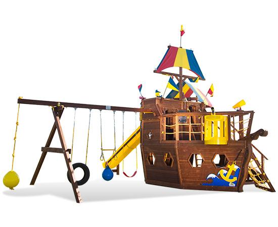 95C The Ship Pkg IV Swing Set