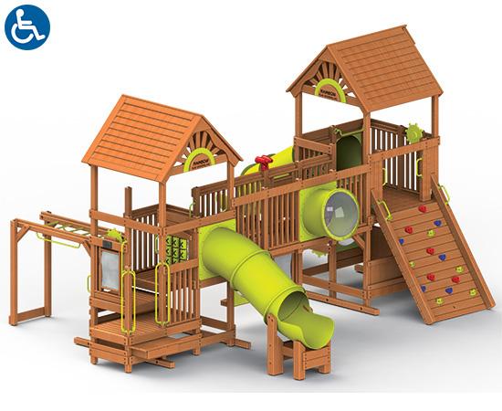 97B Rainbow Play Village Design Idea B