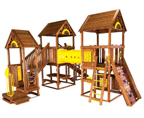99E Rainbow Play Village Design Idea E Commercial Playground Equipment