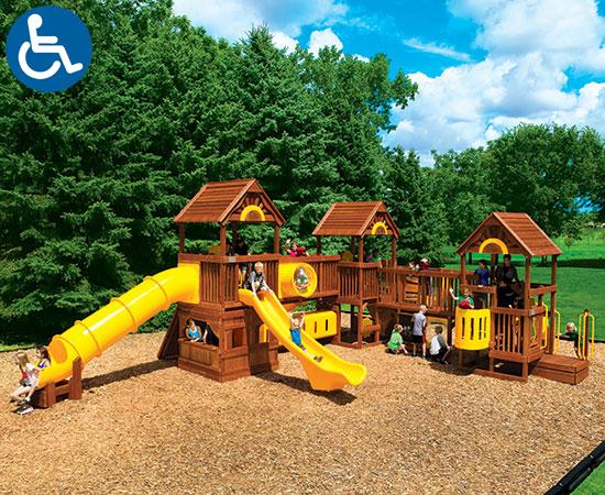 Rainbow Play Village Design Idea C