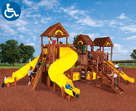 Rainbow Play Village Design Idea F