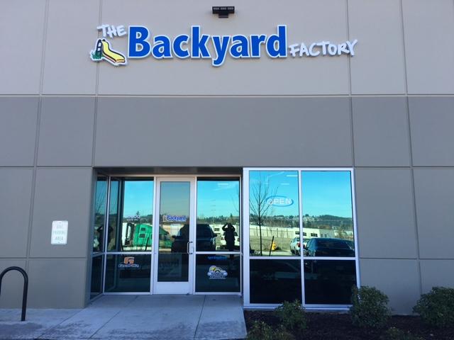 The Backyard Factory in Tualatin, OR