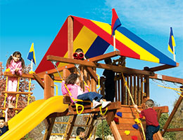 141-Red-Yellow-Blue-Canopy-Castle