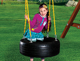 127 4 Chain Tire Swing