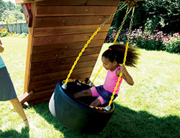 137 360 Race Car Tire Swing
