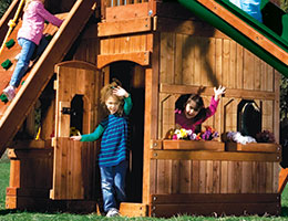 149 Lower Level Playhouse Monster Clubhouse