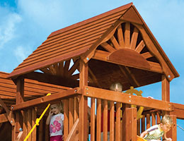 162 Wooden Roof with Fans Clubhouse