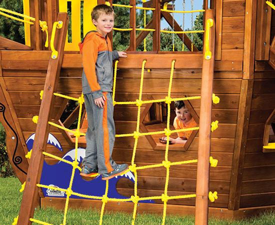 15 Rope Cargo Ladder