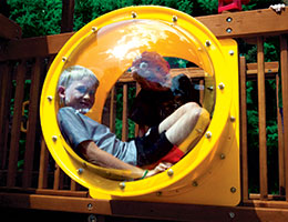 C48 Rainbow Play Village Extended Bubble Rail
