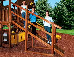 C65 Rainbow Play Village 60 DH Ramp Hand Rail