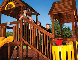 C69 Rainbow Play Village Rise Cleated Climber