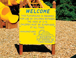 C58 Customized Welcome Sign