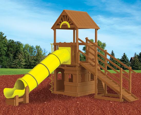 Rainbow Play Village Design 104