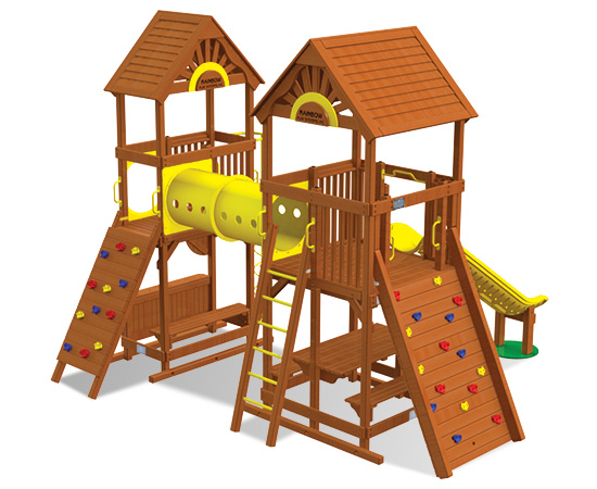 Rainbow Play Village Design 501