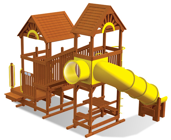 Rainbow Play Village Design 504