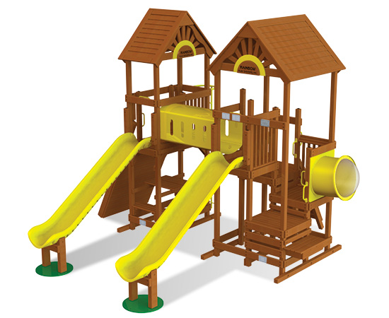 Rainbow Play Village Design 506