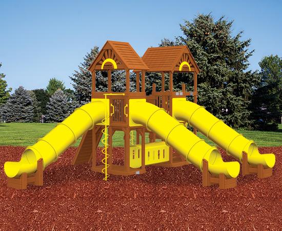Rainbow Play Village Design 507