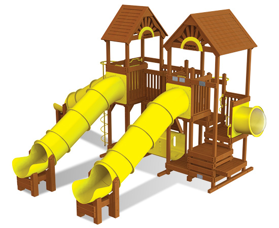Rainbow Play Village Design 507