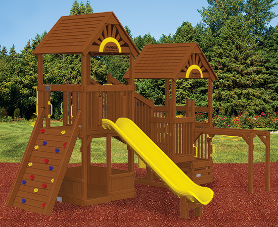 Rainbow Play Village Design 602
