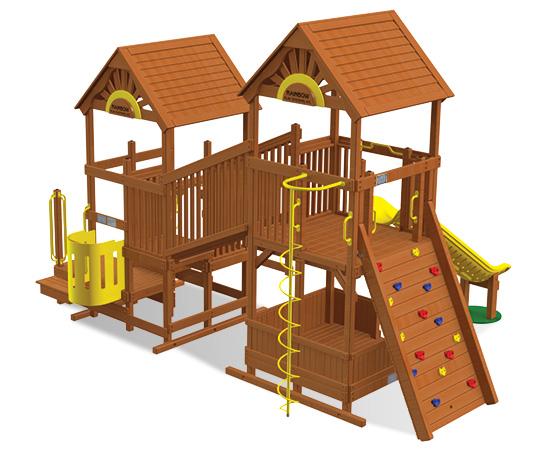 Rainbow Play Village Design 602