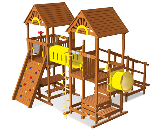 Rainbow Play Village Design 604