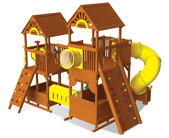 Rainbow Play Village Design 701
