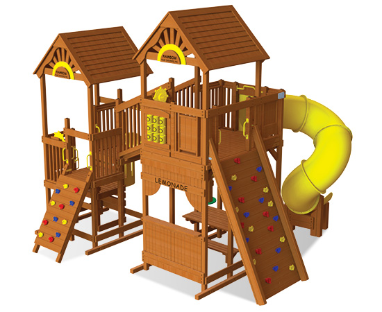 Rainbow Play Village Design 702