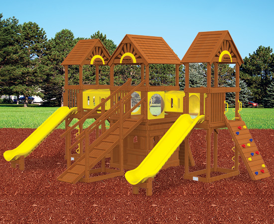 Rainbow Play Village Design 802