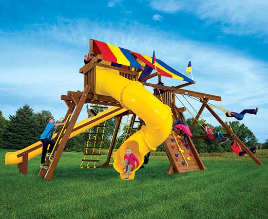 33I King Kong Castle Base Pkg V with 270 Spiral Slide