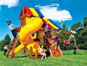19I Rainbow Castle Pkg V with 360 Spiral Slide