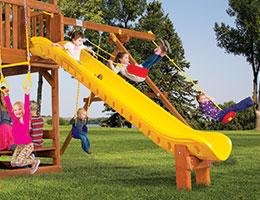 173 10.5ft Safety Scoop Slide Slide