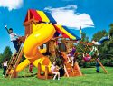 19I Rainbow Castle Pkg V with 360 Spiral Slide