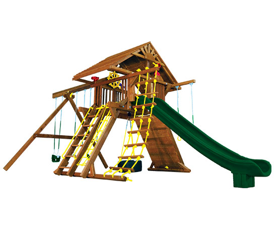 21D Monster Castle Pkg II with Wooden Roof