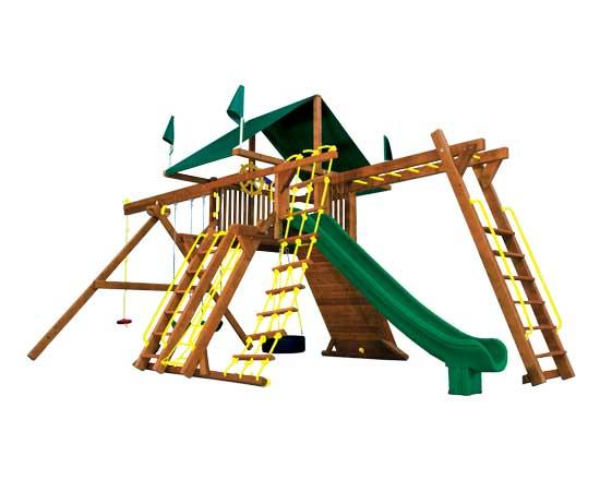21E Monster Castle Pkg III Forest Green