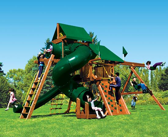 23H Monster Castle Pkg V Forest Green