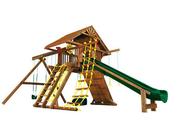 25D Monster Castle Pkg II Loaded with Wood Roof