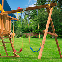 playset swings