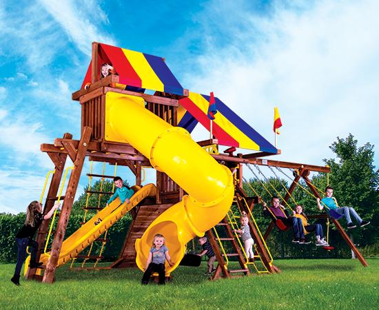 15J Sunshine Castle Pkg V with 270 Spiral Slide