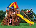 45C Rainbow Clubhouse Pkg II with Playhouse