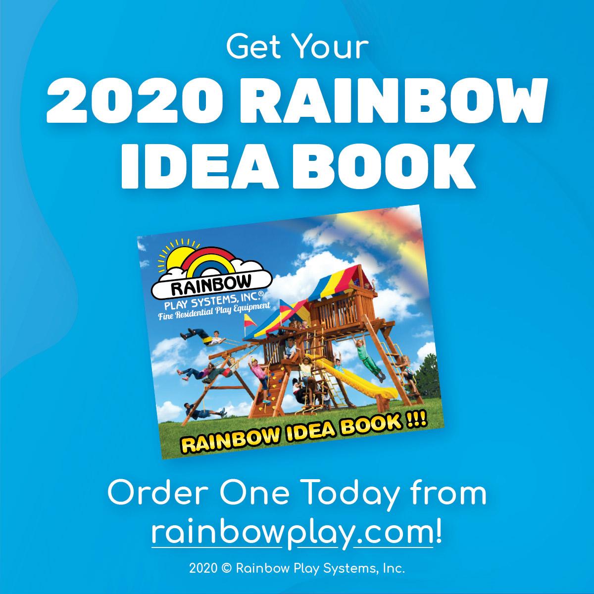 New Rainbow Play Idea Book Catalog